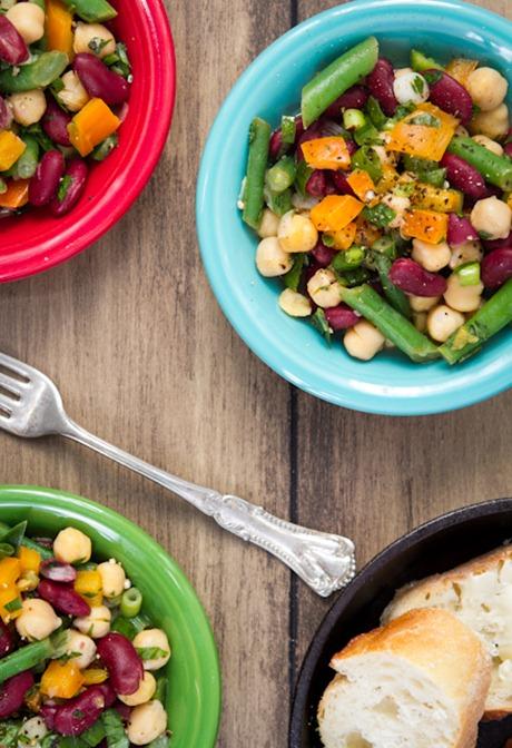 Speedy 3 bean salad - Image courtesy of Oh She Glows